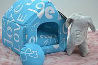 Домик для собак и кошек бязь, фото 1