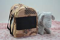 Сумка-туннель для переноски котов и собак бязь