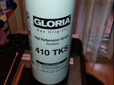 Большой объем бака опрыскивателя GLORIA 410 TKS