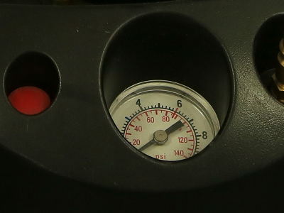 Измерение давления опрыскивателя GLORIA 410 TKS