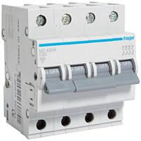 Автоматический выключатель 4P 20А С MC420A Hager