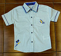Рубашка-шведка  для мальчика рост 104 cм