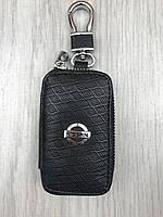 Трендовая кожаная ключница Nissan черная Люкс Автомобильный брелок для ключей Новинка 2019 года Ниссан копия