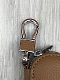 VIP шкіряна ключниця Nissan коричнева Люкс Автомобільний брелок для ключів Новинка 2019 року Ніссан копія, фото 2