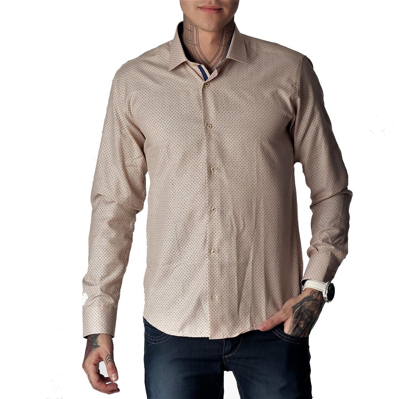 18120c7531b Купить мужскую рубашку весна-осень G1271006 в Киеве - купить мужскую ...