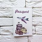 Обложка на паспорт Самолет и багаж, фото 2