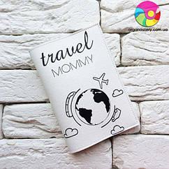 Обложка на паспорт Travel mommy