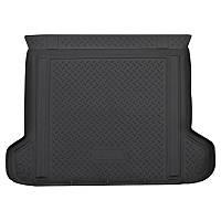 Резиновый коврик  в багажник для Volkswagen Touareg (2010) (4-х зонный климат контроль)