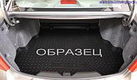 Резиновый коврик   в багажник для Volkswagen Touareg (2010) (2-х зонный климат контроль)