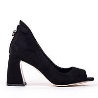 Женские туфли Fabio Monelli SG-016 BLACK 36, фото 1