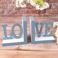"Держатель книг ""love"" дерево"