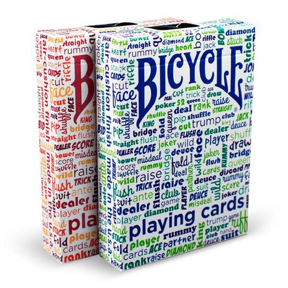Карты игральные | Bicycle® Table Talk