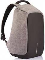 Рюкзак антивор 1701 серый
