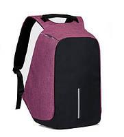 Рюкзак антивор 1701 фиолетовый, фото 1
