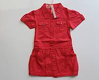 Платье котон для девочки 4-12