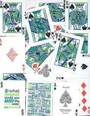 Карты игральные | Bicycle® Table Talk, фото 2
