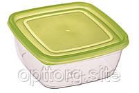 Контейнер пищевой Econom квадратный 0.5 л.