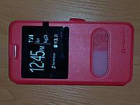 Чехол книжка Nillkin с окном Meizu M3 Note красный