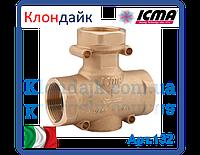 Icma антиконденсационный термостатический смесительный клапан 1 1/4' 55°C