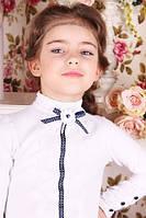 Очень нарядная школьная блуза для девочки B-9, фото 1