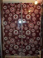 """Шкаф-купе """"Вектор"""" , длина 160см, две двери - полноцвет."""