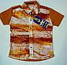 Рубашка-шведка  для мальчика рост 92-104 см