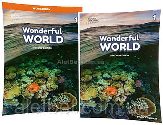 Английский язык / Wonderful World. Student's+Workbook, Учебник+Тетрадь (комплект), 1 / NGL
