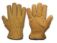 Перчатки защитные из козьей кожи на подкладке,(зимние) CORK TERM размер 10,5, RWC105