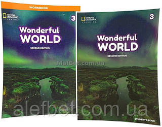 Английский язык / Wonderful World. Student's+Workbook, Учебник+Тетрадь (комплект), 3 / NGL