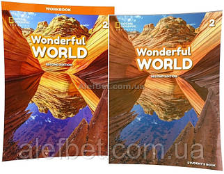 Английский язык / Wonderful World. Student's+Workbook, Учебник+Тетрадь (комплект), 2 / NGL