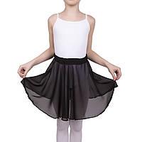 Тренировочная юбка  Dance&Sport NM 6 шифон Черный M/116-122