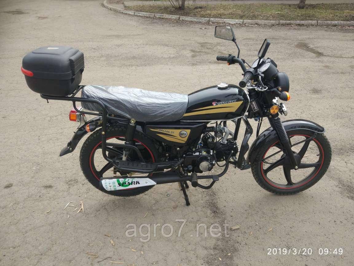 Мотоцикл с доставкой SP110С-2С Альфа