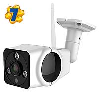"""Уличная IP WiFi Камера Он-лайн Видеонаблюдения, Панорамная Система """"Рыбий глаз"""", VR360, Модель: """"Квадрат"""""""