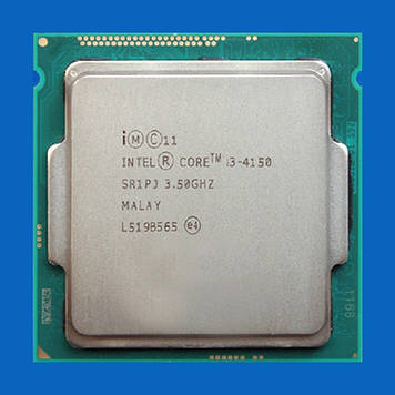 Процессор Intel Core™ i3-4120, 2 ядра, 3.50GHz, BX80646I34150, SR1PJ, s1150, tray