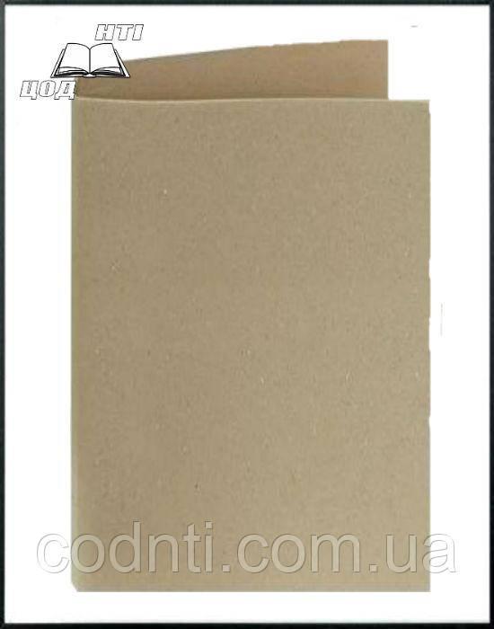 Архивная папка без завязок без титульной страницы, высота корешка 20 мм