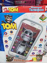 Детский интерактивный телефон Кот Том DT-030