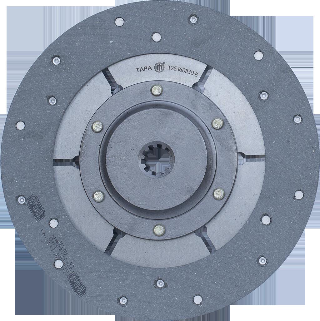 Диск Т25-1601130-В ведомый главной муфты сцепления Т-40 ТАРА
