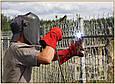 Установка забора из профнастила в Одессе, фото 6