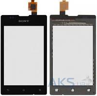 Сенсор (тачскрин) для Sony Xperia E C1503, Xperia E C1504, Xperia E C1505, Xperia E Dual C1604, Xperia E Dual C1605 Original Black
