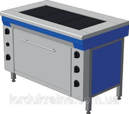 Плита электрическая промышленная с духовкой ЭПК-3ШМ (мастер) ТМ ЭФЕС