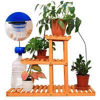 Таймер система капельного полива комнатных растений Aqualin YL22079 с АКБ