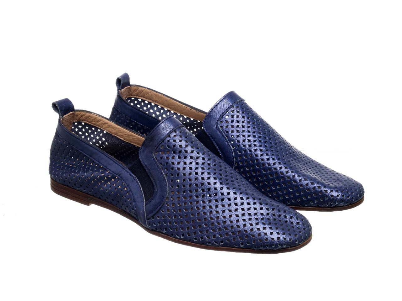 Балетки Etor 5922-7331-27 синій