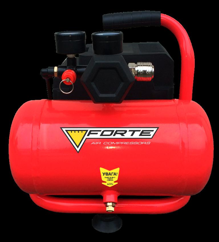 Безмасляний компресор Forte COF-6