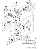 Ролик натяжной ремня ГРМ Лачетти 1.8i (LDA), H13-DW028, 55567191, фото 4