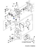 Ролик обводной ремня прав.ГРМ Лачетти 1.8i (LDA), H13-DW034, 96413864, фото 3