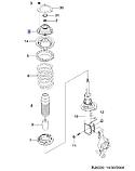 Опора амортизатора заднього Лачетті, H23-DW158, 96457360, фото 3