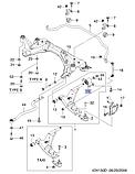 Сайлентблок переднего рычага задн.прав.Эпика, H23-DW167, 96970075, фото 4