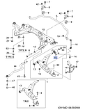Сайлентблок переднього важеля задн.прав.Епіка, H23-DW167, 96970075, фото 4