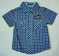 Рубашка-шведка  для мальчика рост 86 см