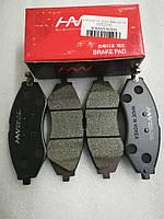 Колодки тормозные передние Лачетти, HS04-DW006, 96405129